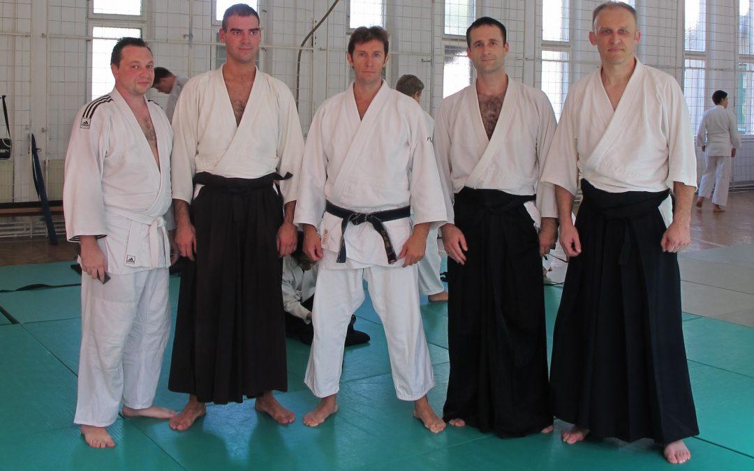 Aikido seminar 7 – 8. mart 2015 – Pascal Guillemin